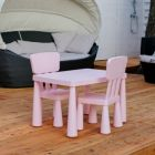 Accomidation Vodice Nr. 15: Chairs and table you can borrow for the kids